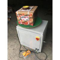 【电商物流】【淘宝快递】包裹专用裹包机打包机绕膜机JCR-1709T嘉拓包装更专业!
