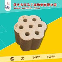 天马陶瓷生产耐腐蚀塔填料 陶瓷梅花环