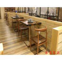 云南昆明餐厅家具茶餐厅桌椅定制咖啡厅家具厂家