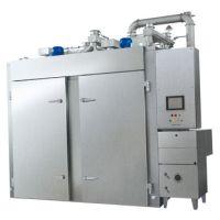 正康直供zczk-500不锈钢全自动多功能肉制品烟熏炉
