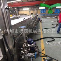 供应肉丸蒸煮成套流水线 鱼丸素丸 加工设备 丸子成型设备梁源