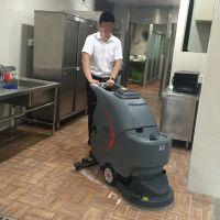 柳州洗地机供应车站高铁地面用自动洗地机污渍粉尘清洗应用