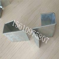 镀锌瓷砖展板挂钩 600*600地板砖卡扣托件 上海瓷砖冲孔板