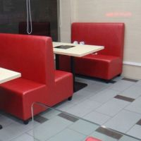 海德利定制简约现代实木火锅烧烤桌自助酒店火锅桌椅组合烤涮一体自助餐桌椅子