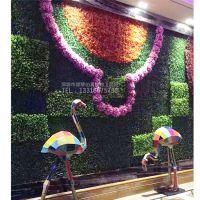仿真假草室内装饰 人造绢花 新款装修劲爆来袭 欢迎前来定制 深圳绿琴