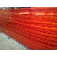 热转印木纹不锈钢薄板 紫檀红木纹不锈钢板 四八尺木纹201薄板