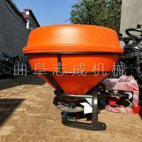 推荐大容量后置撒肥机悬挂式化肥抛洒机农用拖拉机带大面积施肥器