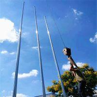金聚进 户外不锈钢国旗杆室外工地政府学校锥形旗杆6米9米10米12米13米15米