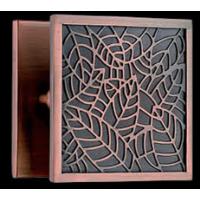 锢雅精雕仿古铜雕刻拉手,铝板雕刻工艺大拉手