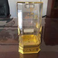 山东酒盒制作厂供应优质加套八角透明酒盒