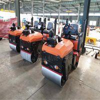1吨座驾式小型压路机曲阜厂家 双钢轮压路机柴油动力