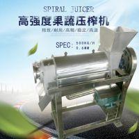 厂家供应大型水果榨汁机 批发螺旋商用水果榨汁机