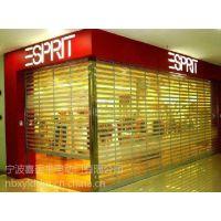 慈溪商场折叠门折叠水晶门电动水晶门
