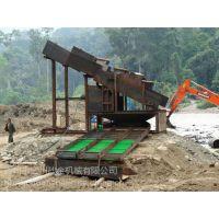 采金机械为环保事业项目贡献力量