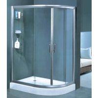 诺乐淋浴房门R-005(一固一活单推拉门)