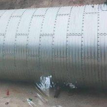 金属钢制波纹涵管地下排水管 公路波纹钢管