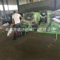 热销行走式玉米秸秆粉碎打捆机厂家场上作业玉米秸秆粉碎