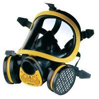 霍尼韦尔 1710641 防毒气黄色防护全面罩