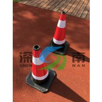 上海工地专用路锥 反光交通锥 橡胶路锥批发