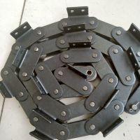 乾德定做38.1碳钢滚子链条双节距单侧弯板链条配件厂家