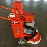 供应除锈设备 雨淋钢板打磨机 手推式除锈机单人操作除锈机视频