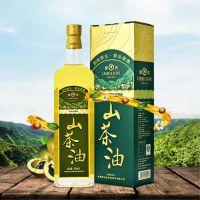 厂家直销绿达山茶油750mLX2礼盒装 隶属羚锐集团 野生压榨 出口品质
