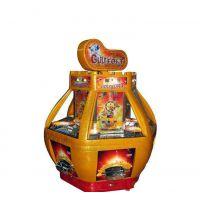 步风动漫厂家直销大型投币游戏机黄金堡电玩机