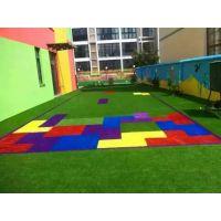 厂家足球场人造草坪 足球场地专用草坪定做铺设 足球场草坪批发