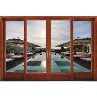 佛山铝木重型推拉门 高端铝合金铝门窗厂招商加盟 高端防盗德式门窗 伊美德门窗