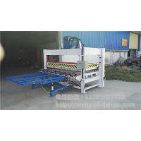 大豪木工机械(图)、A字型液压拼板机、拼板机