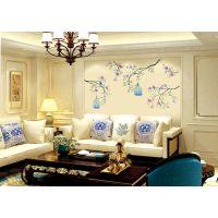 软硬包壁画背景墙新中式?背景艺术软包厂家客厅卧室沙发墙贴杭州