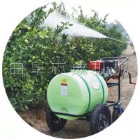志成160L推车式打药机 果树杀虫高压喷雾器 多功能园林小型洒水车一机多用