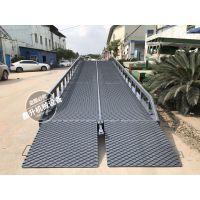 欧美款 钢格板登车桥 固定式登车桥 鑫升固定装卸平台