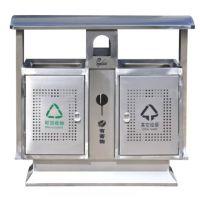 厂家直销户外分类垃圾桶不锈钢垃圾桶 贵州果皮箱报价 供应勾臂箱