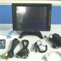 Touch screen monitor access control system
