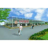 【华科温室】中国农业大学开封试验站连栋玻璃温室项目