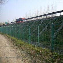 便宜的铁丝网围栏 双边丝护栏网 运动场隔离护栏