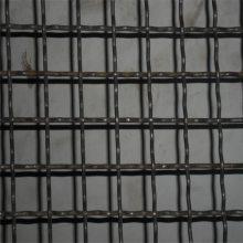 钢丝轧花网规格 黑钢编织轧花网 金属丝编织网