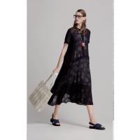 品牌希色专柜纯色时尚简约风格折扣女装 桑蚕丝品牌库存女装现货供应