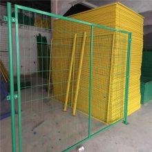 美格护栏网 镀塑护栏网 校园围墙网