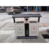 公园环保果皮箱 镀锌板冲孔垃圾桶 可定制 青蓝户外果壳箱厂家