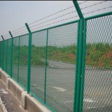 直销热镀锌防护勾花网 清远边框围栏网 编织菱形网