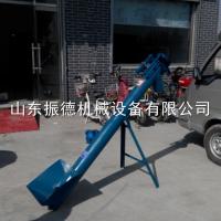 振德粮食输送专用软管吸粮机价格 多功能螺旋输送机