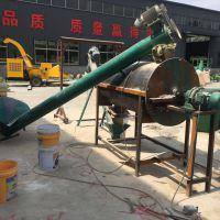 500公斤时产饲料机组 猪饲料粉碎搅拌机价格 小麦大米上料混合机