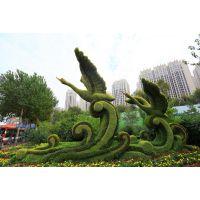仿真垂直绿雕造型 动物熊猫可爱雕塑造型 植物造型雕塑