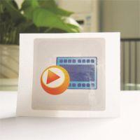 高频icode slix芯片圆形单孔abs材料,巡更电子标签,15693协议
