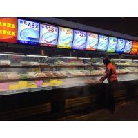 超市展示柜使用注意 超市保鲜展示柜如何摆放?