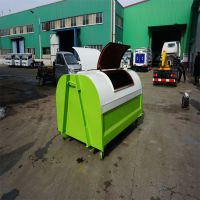 环保垃圾箱 钩臂式可装卸车式垃圾箱生产厂家