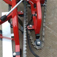 四轮车带链条花生收获机 花生收获机价格