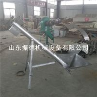 振德牌 ZD-160绞龙输送机 无轴管式上料机 螺旋输送机 定制